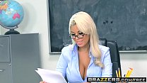 Brazzers - Big Tits at School - Highbrow Pussy scene starring Bridgette B and Bill Bailey