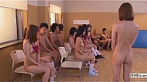 Subtitled uncensored Japanese nudist school club orgy