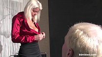 Amateur German video blonde MILF cheating on her husband