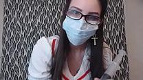 Femdom Pegging prep for little ass slut from BBW nursing Assistant Preview