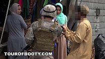 Hijab girls fucked by american soldiers