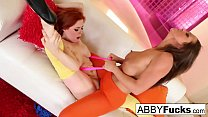 Abigail Mac fucks her sexy friend