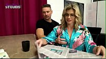 Ivy Rose in Step Parents Threesome