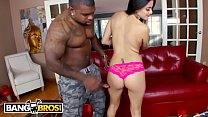 BANGBROS - Selma Sins's Tight Latin Pussy Gets Stretched Out By Big Black Cock