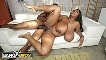 Ebony big tits woman