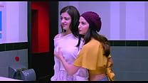 Boobs press telugu actress