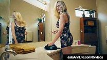 Julia Ann has sex with a fan