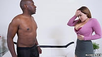 Mandingo's BBC vs busty Natasha Nice