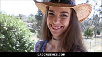 Young Petite Cowgirl Step Daughter Tali Dova Fucked By Step Dad POV