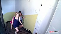 Neighbor girl gets her Back door pushed in Fast and Hard