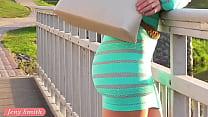 Jeny Smith transparent dress