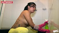 Colombian Hot Maid Would Rather Fuck Than Clean - LETSDOEIT.COM