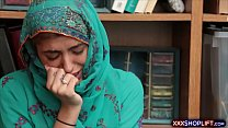 XXXSHOPLIFT Guilty Hijabi Shoplifter Gets Punished After Swearing