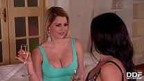 Hardcore threesome with Sienna Day & Inna Innaki make you orgasm instantly