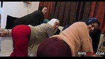 GANGBANG with MUSLIM chicks