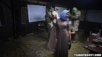 Arab sluts sneak into a military base