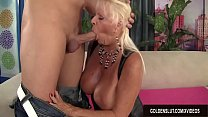Big Tit Granny Mandi McGraw Fucks a Guy