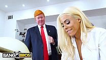 BANGBROS - Luna Star Gets ANAL In The Oval Office While The President Watches