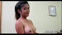 Sucking shlong and balls of a boy