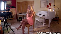 Kinky Holly Heart getting busy with cock