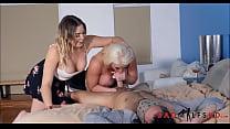 Stepmom And Her Teen Stepdaughter Fuck Boyfriend