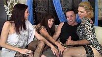 3 Cougars Wild Group Sex With Guy - Bestporno.net