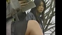 Japanese lesbian girls in bus
