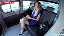 Hot Babe gets Rough Sex with a Czech Taxi Driver - LETSDOEIT.COM