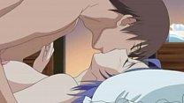 Anime couple fucking together
