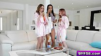 Bokep Quinn Wilde Kara Lee and Kiarra Kai are super excited that one of them is finally getting married