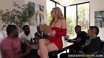 Interracial Orgy - Moka Mora