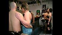 Group Orgy In The Dutch Bar
