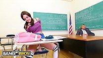 BANGBROS - Professor Tyler Nixon Teaches His Horny Student A Sex Lesson