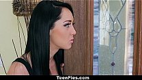 TeenPies - Brunette Teen Sabrina Banks Gets Fucked And Filled By Her Landlord!