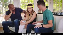 Bokep ExxxtraSmall - Petite Blonde Teen Fucked By 2 Football Players