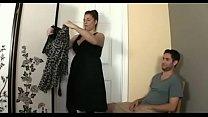 Sucking her little boy´s big cock pornoverde
