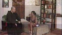 Frate porco scopa ragazza di colore - porno italiano Friar pig fucks black girl