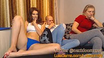 Shh…I can not scream…she dont know…lush ohmibod