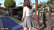 Maya Kendrick Amateur Teen Flashes Hairy Pussy on Mini-Golf Date