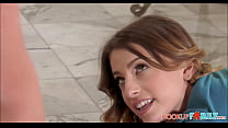 Cute Young Tiny Step Sister Kristen Scott And Her Stepbrother Have Sex After Yoga