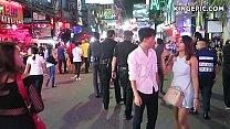 Walking Street Thai Asian Girls in Thailand!