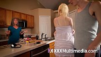 Mind control sister and mom put into trance and fucked in taboo threesome