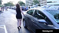 Uber Driver Scores With Sara Jay!