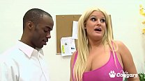 Chunky MILF Julie Cash Gets Nailed By Her First BBC