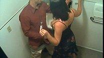 Secret Blowjob In The Toilet Caught Live On CCTV