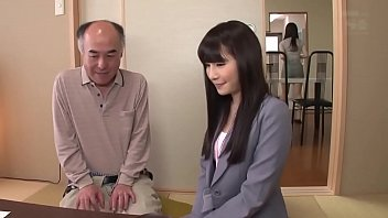 XXX Porn Pretty Japanese girl fucked by old guy