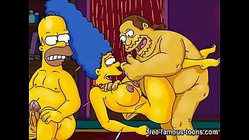 Famous cartoons gangbang orgies