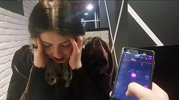 Cute Girl with Remote Vibrator