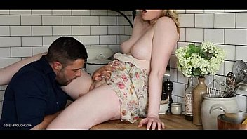 Bokep Kitchen blonde 've sex- Satine Spark - TOO PRECIOUS