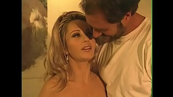 Asia Carrera sucks cock in the car while her girlfriend Marylin Star  gets dick inside on the billiard table